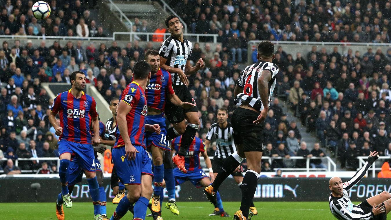 Newcastle v Crystal Palace