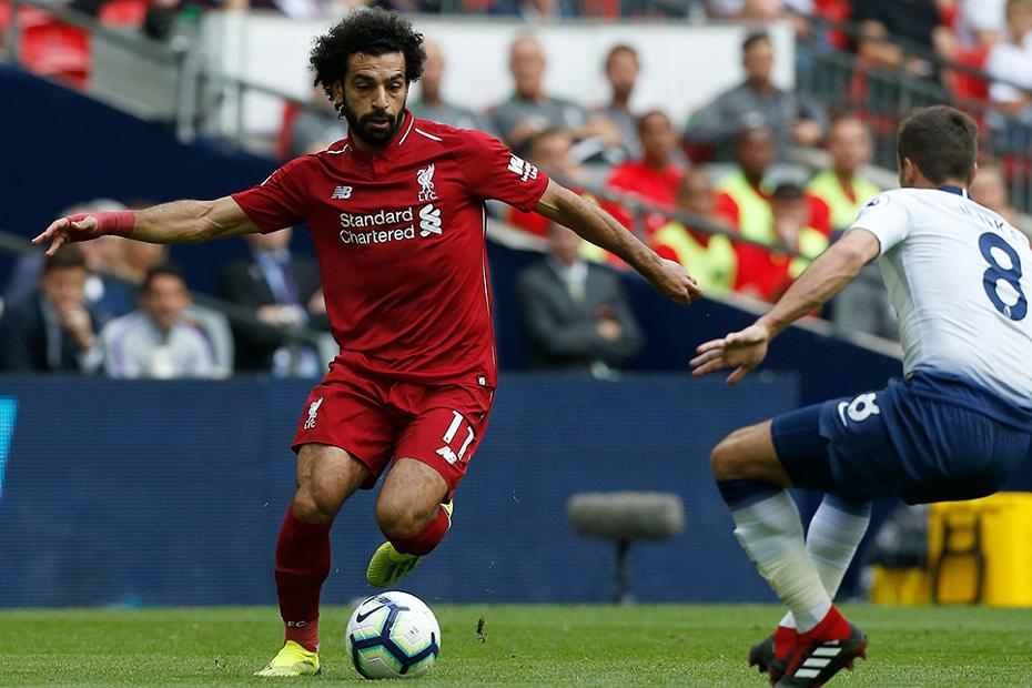 Mohamed Salah v Spurs