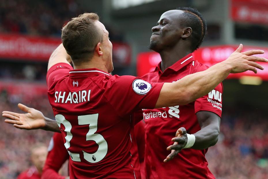 Xherdan Shaqiri and Sadio Mane, Liverpool