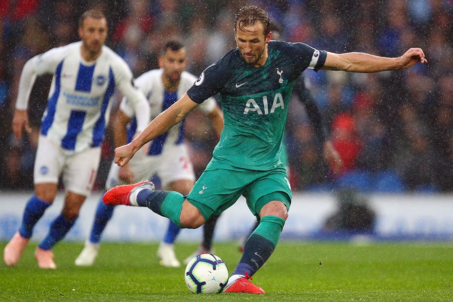 Harry Kane, penalty v Brighton
