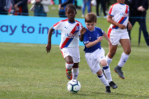 Under-9 players' Welcome Festival experience in 2018/19