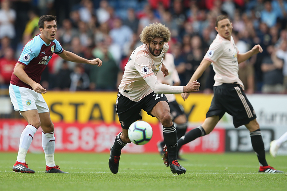 Marouane Fellaini, Man Utd