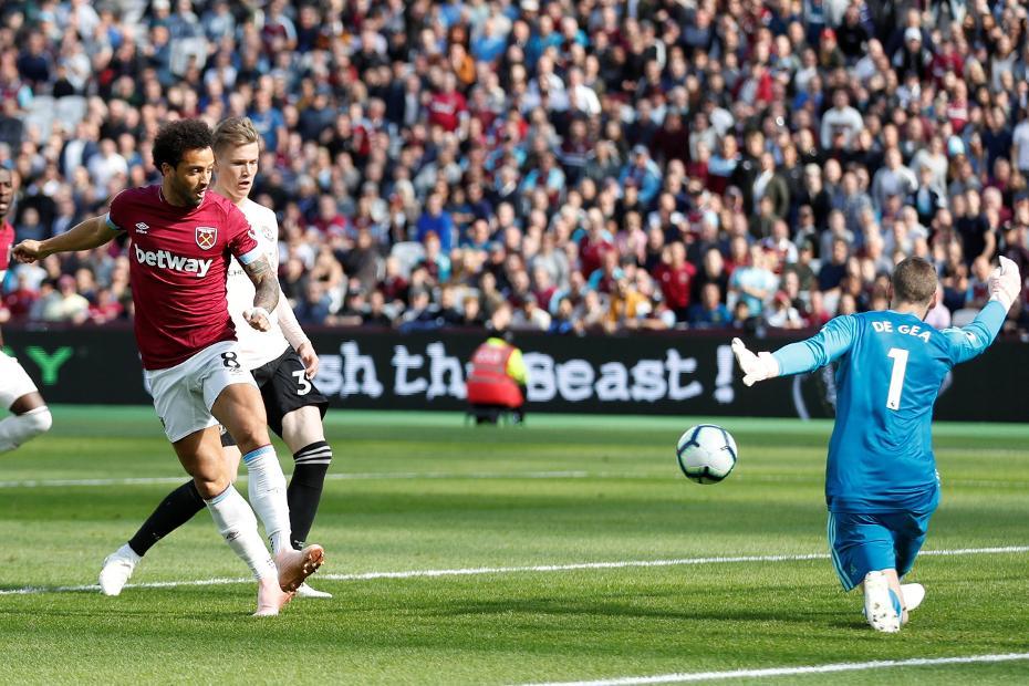 Felipe Anderson West Ham goal