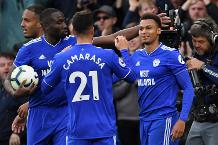 Goal of the day: Murphy's cracker for Cardiff