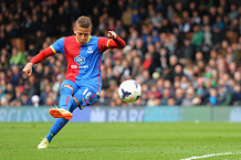 Goal of the day: Gayle's sweet free-kick for Palace