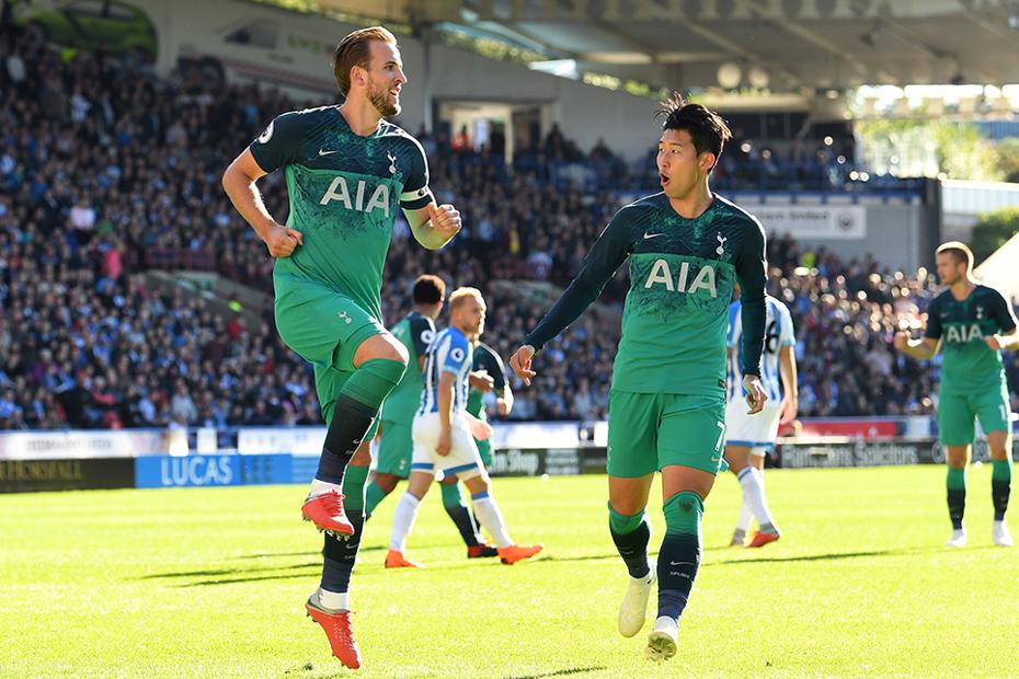 Harry Kane cele, Huddersfield v Spurs