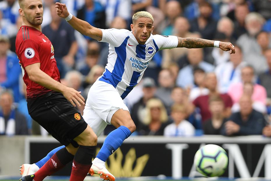 Anthony Knockaert, Brighton v Man Utd