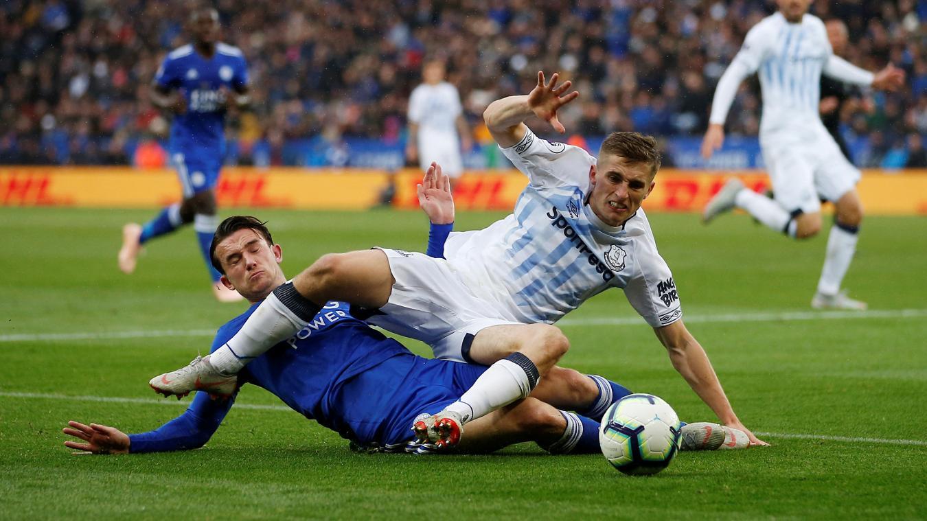 Leicester City 1-2 Everton