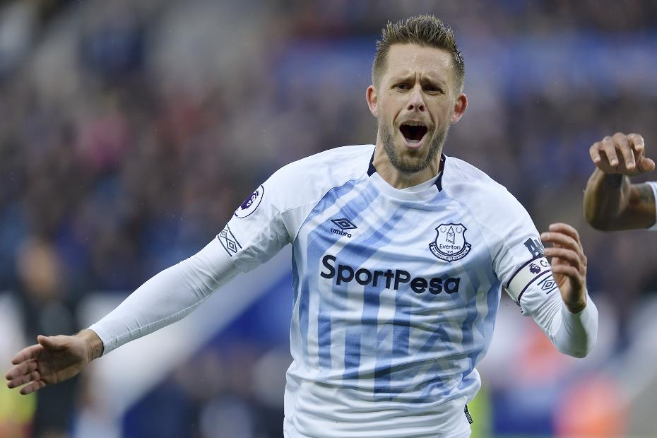 Leicester City v Everton - Gylfi Sigurdsson
