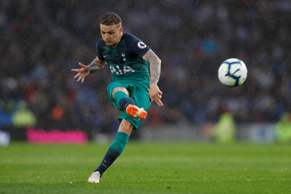 Kieran Trippier, Spurs
