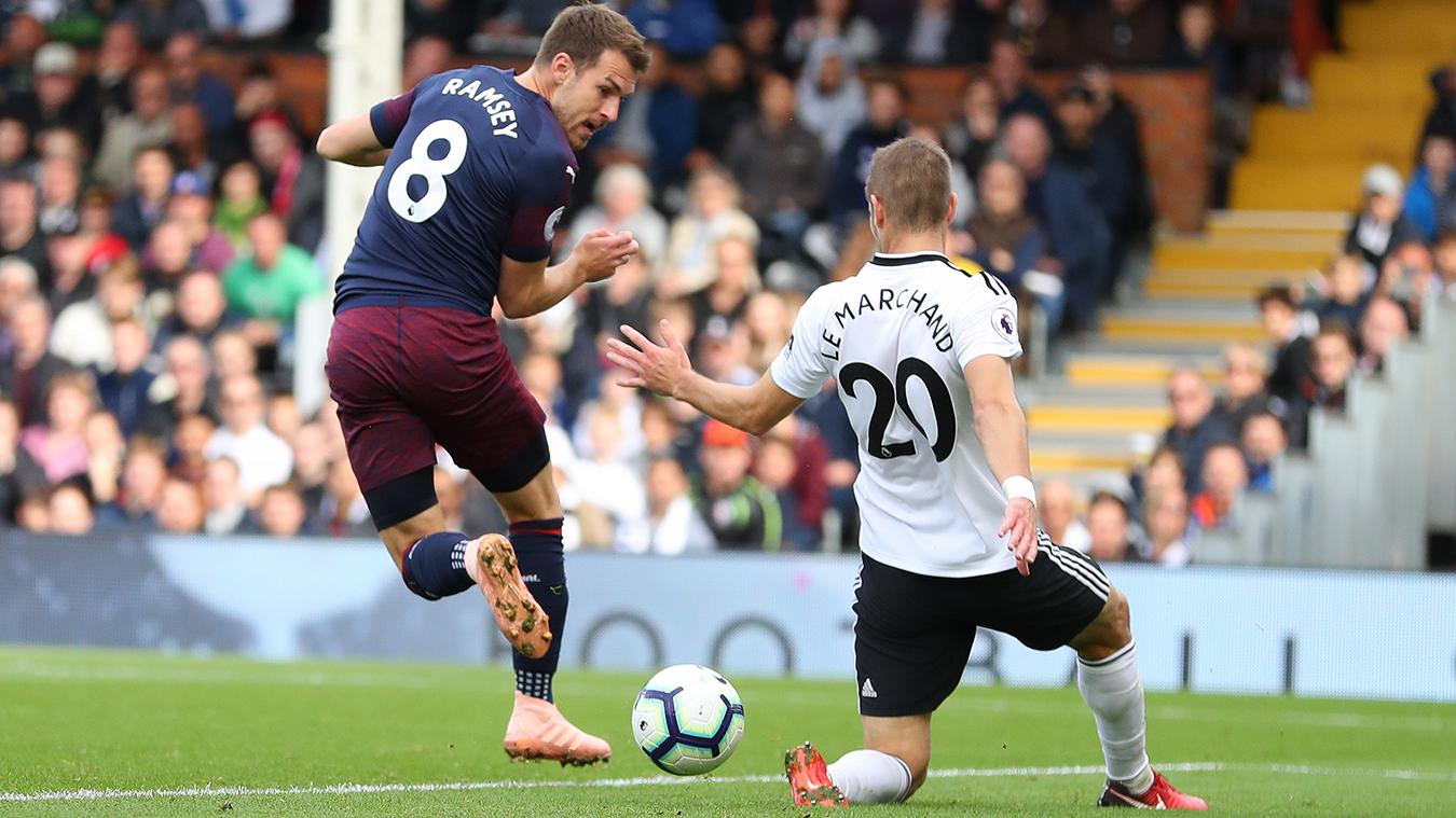 Fulham 1-5 Arsenal