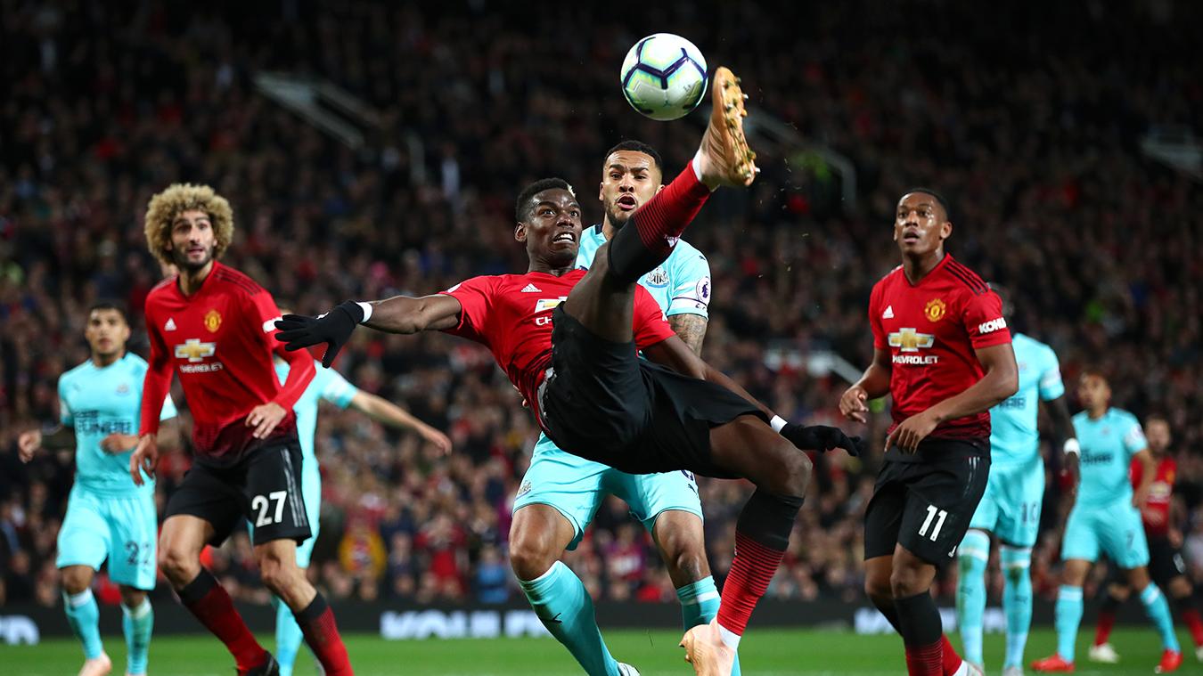 Manchester United 3-2 Newcastle United