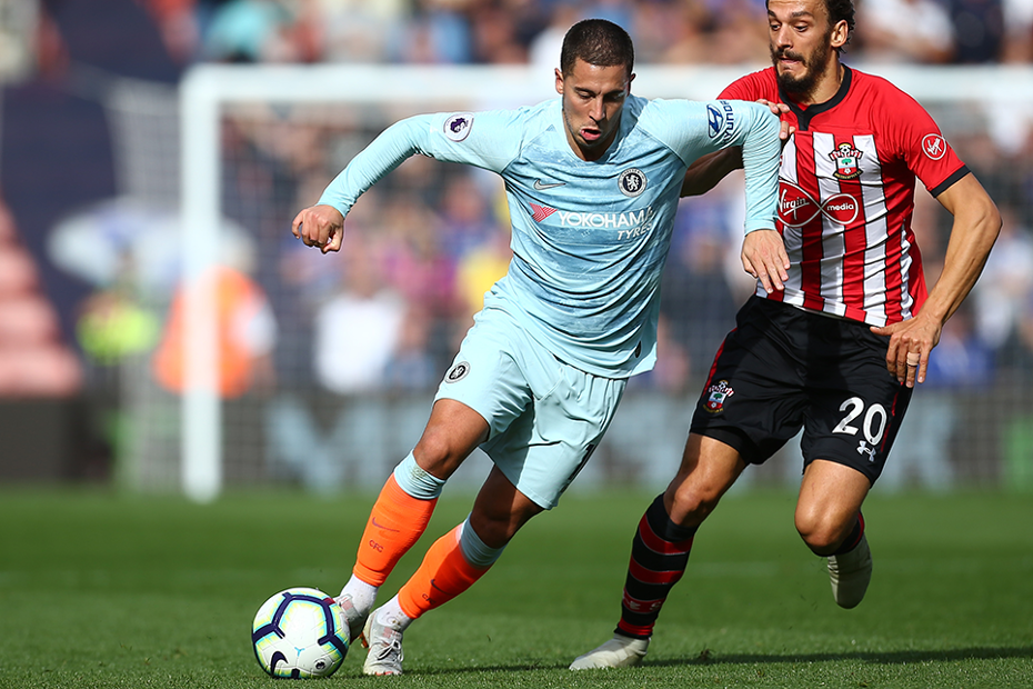 Eden Hazard, Chelsea v Southampton