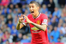 Watch Di Maria's sublime chip at Leicester