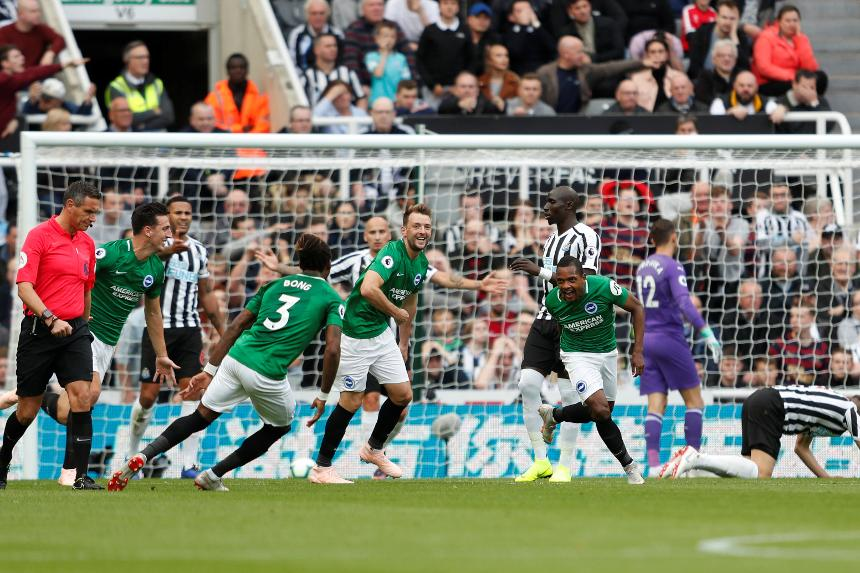Premier League - Newcastle United v Brighton & Hove Albion