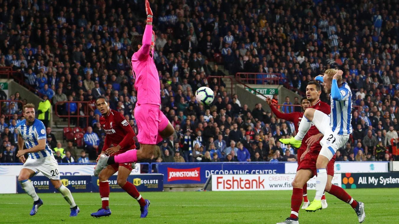 Huddersfield Town 0-1 Liverpool