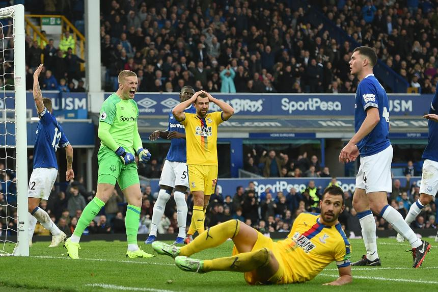 Everton 2-0 Crystal Palace
