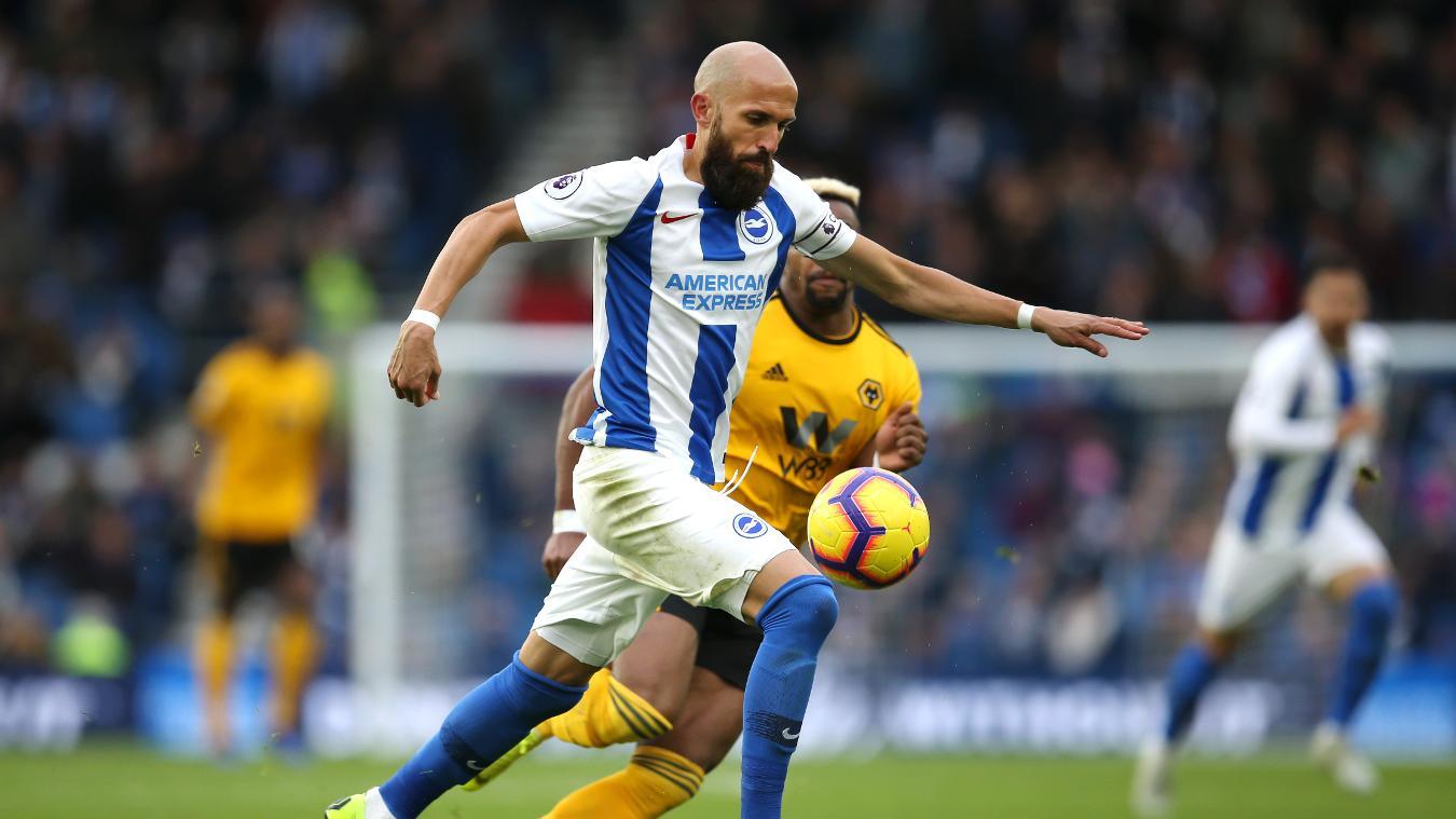 Brighton & Hove Albion 1-0 Wolverhampton Wanderers