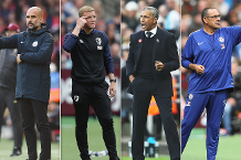 Shortlist for October's Barclays Manager of the Month