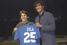 On this day - 8 Nov 1996: Zola signs for Chelsea