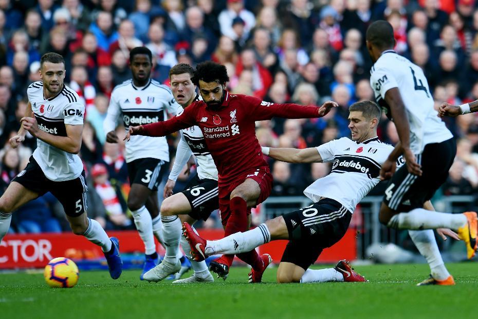 Mohamed Salah v Fulham