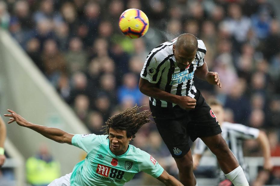 Salomon Rondon scores for Newcastle v AFC Bournemouth