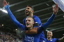 Flashback: Vardy makes it 10 on the spin at Newcastle
