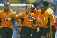 Goal of the day: Cameron curls in for Wolves
