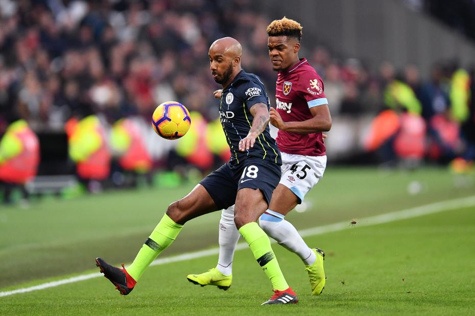 West Ham United v Manchester City - Fabian Delph