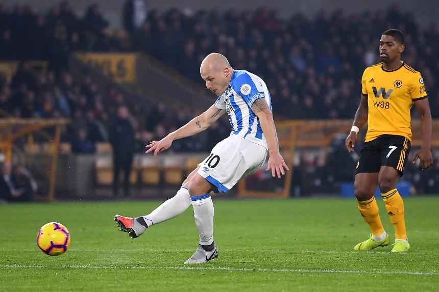 Wolverhampton Wanderers 0-2 Huddersfield Town