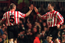 Kevin Ball and Craig Russell, Sunderland