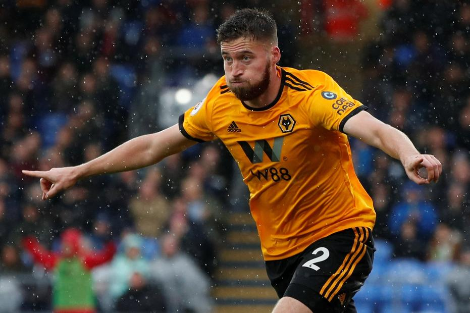 Matt Doherty, Wolves celebrates