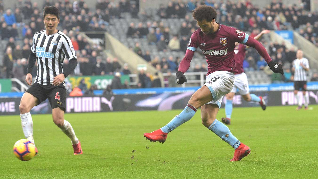 Newcastle United 0-3 West Ham United