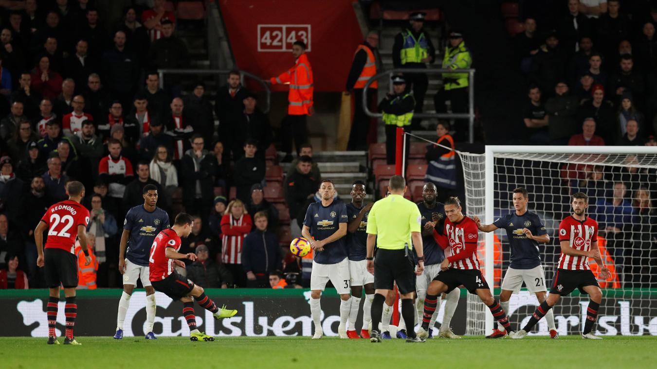 Southampton 2-2 Manchester United