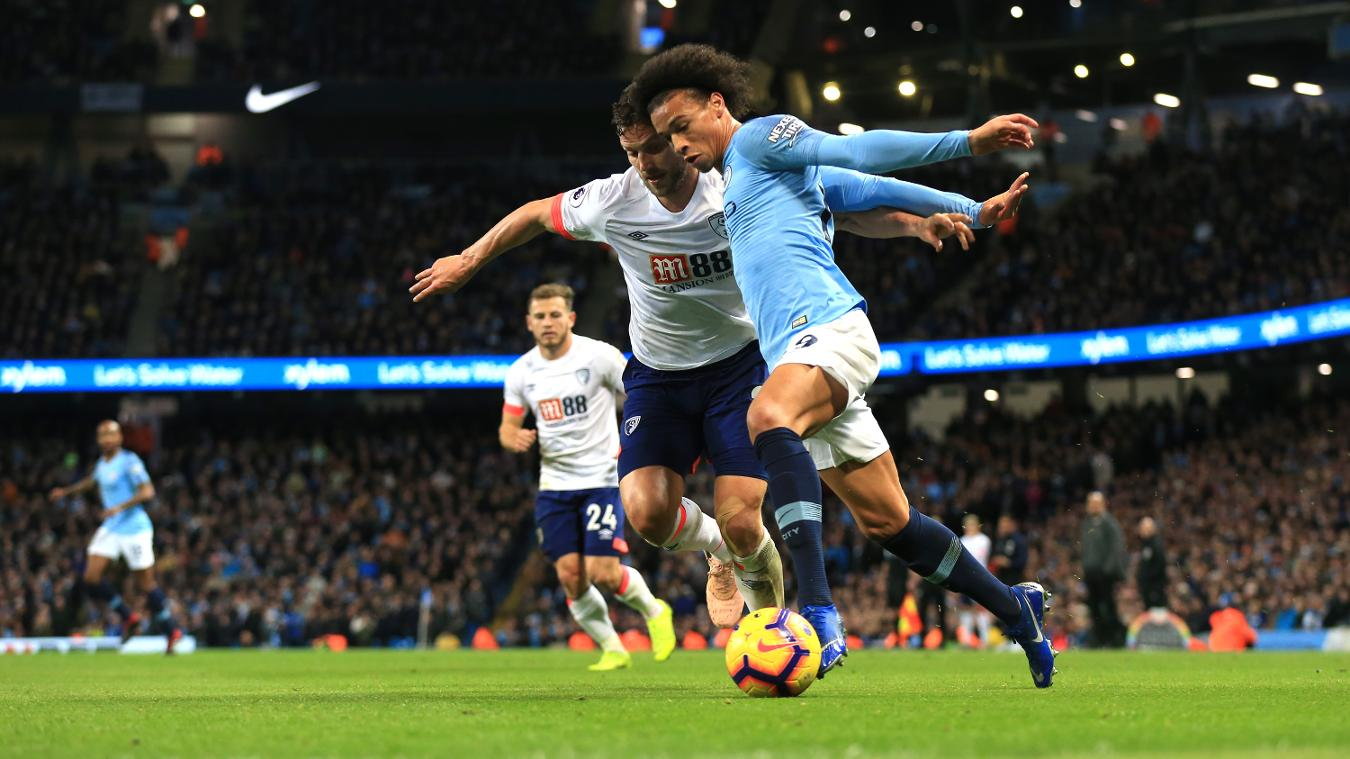 Manchester City 3-1 AFC Bournemouth
