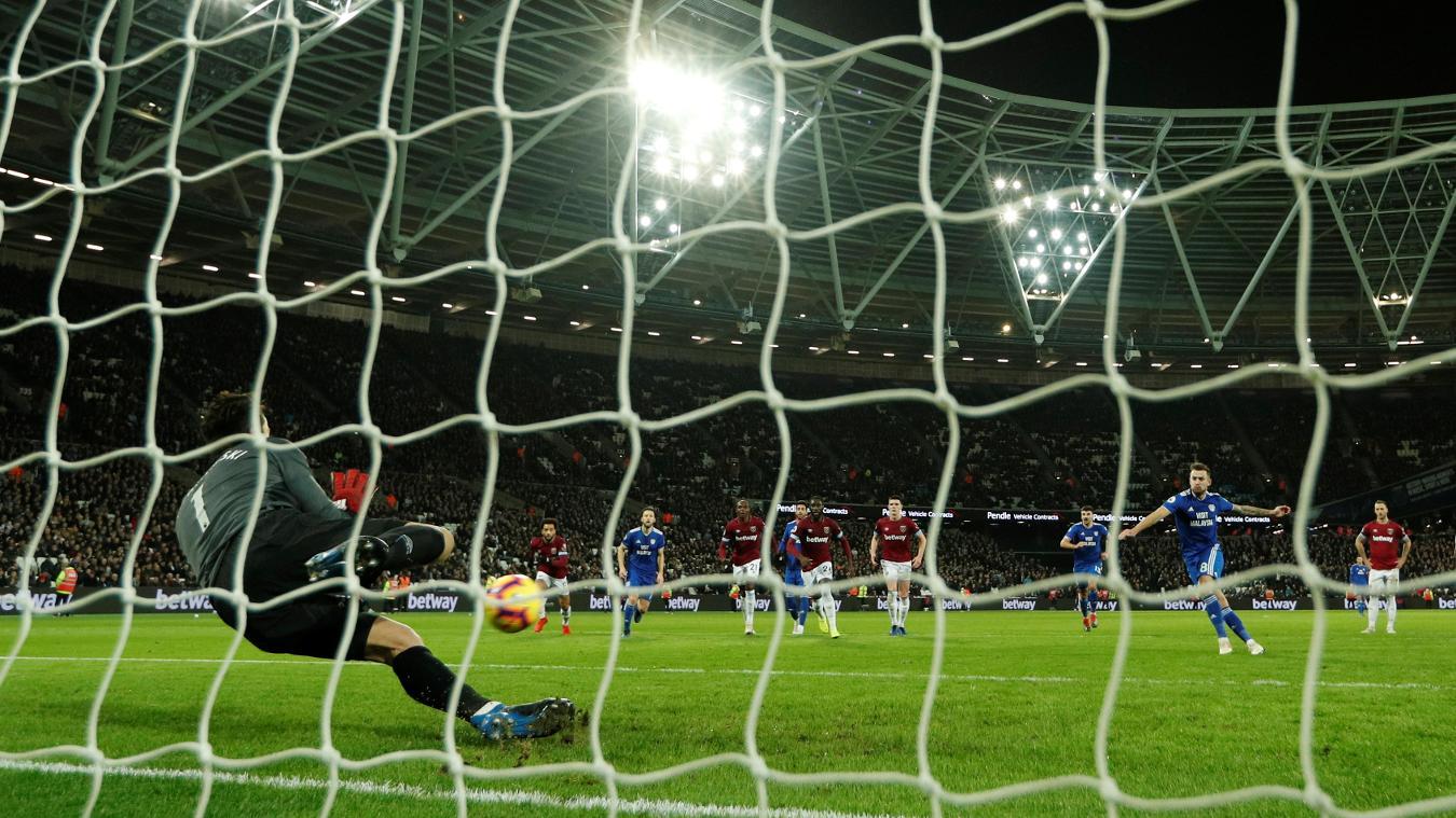 West Ham United 3-1 Cardiff City