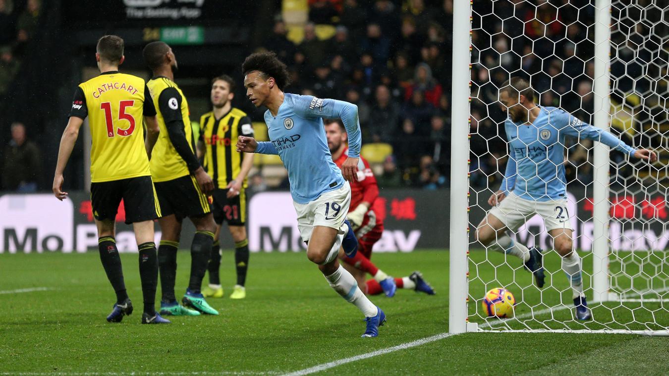 Watford 1-2 Manchester City