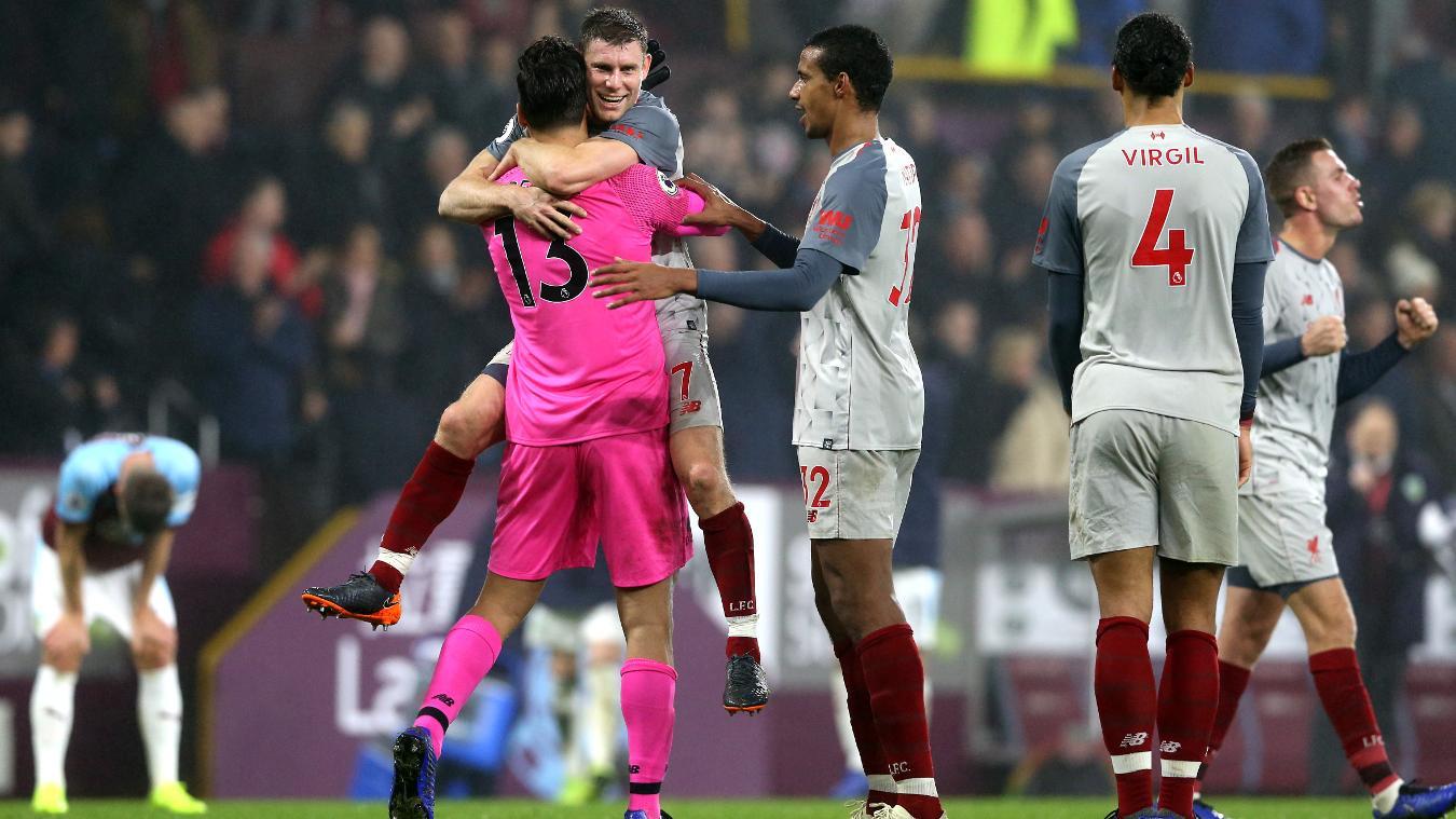 Burnley 1-3 Liverpool