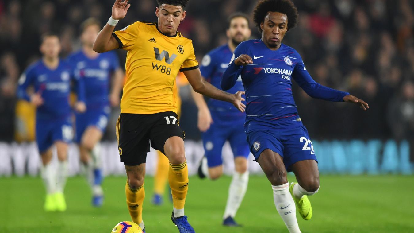 Wolverhampton Wanderers 2-1 Chelsea