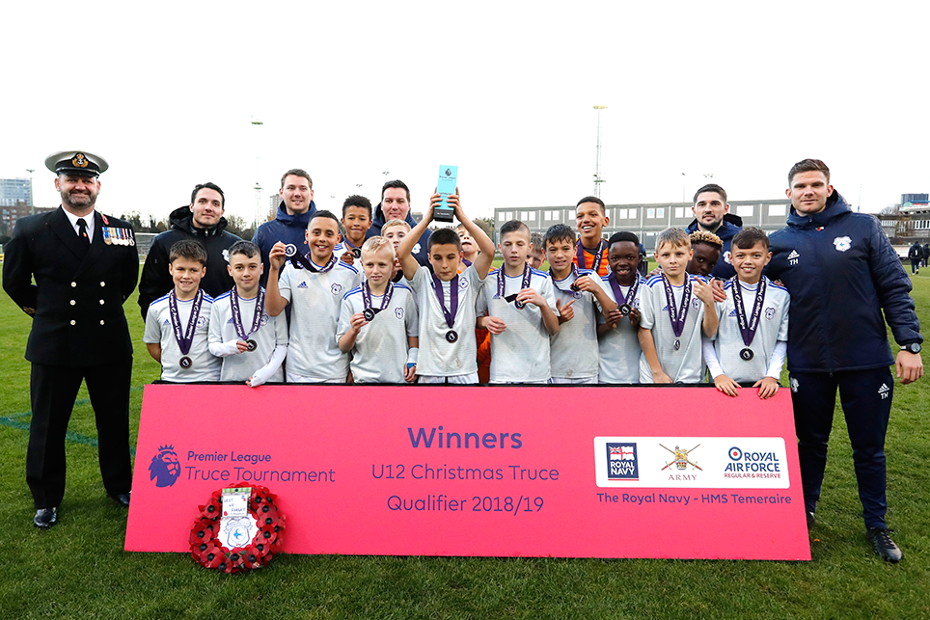 Cardiff City win Truce Tournament qualifiers