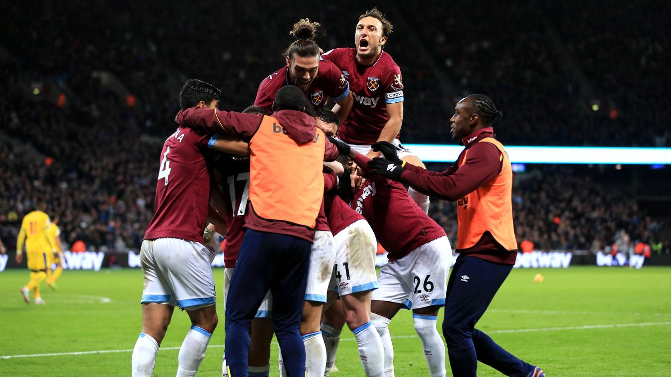 West Ham United 3-2 Crystal Palace