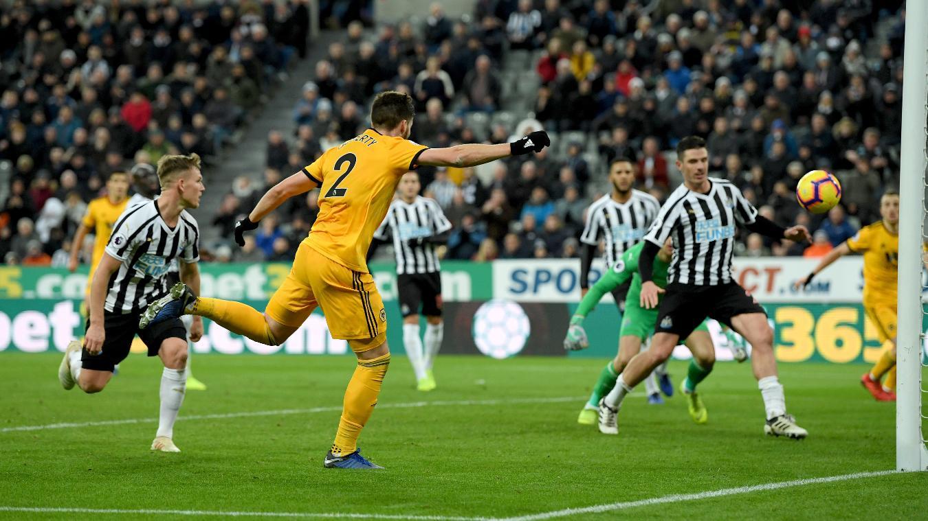 Newcastle United 1-2 Wolverhampton Wanderers