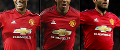 Marcus Rashford, Ashley Young, Juan Mata composite