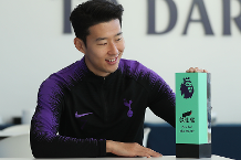 Son: Goal of the Month one of my best