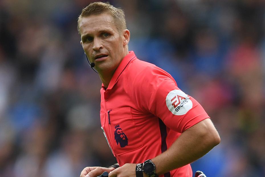 Craig Pawson, referee