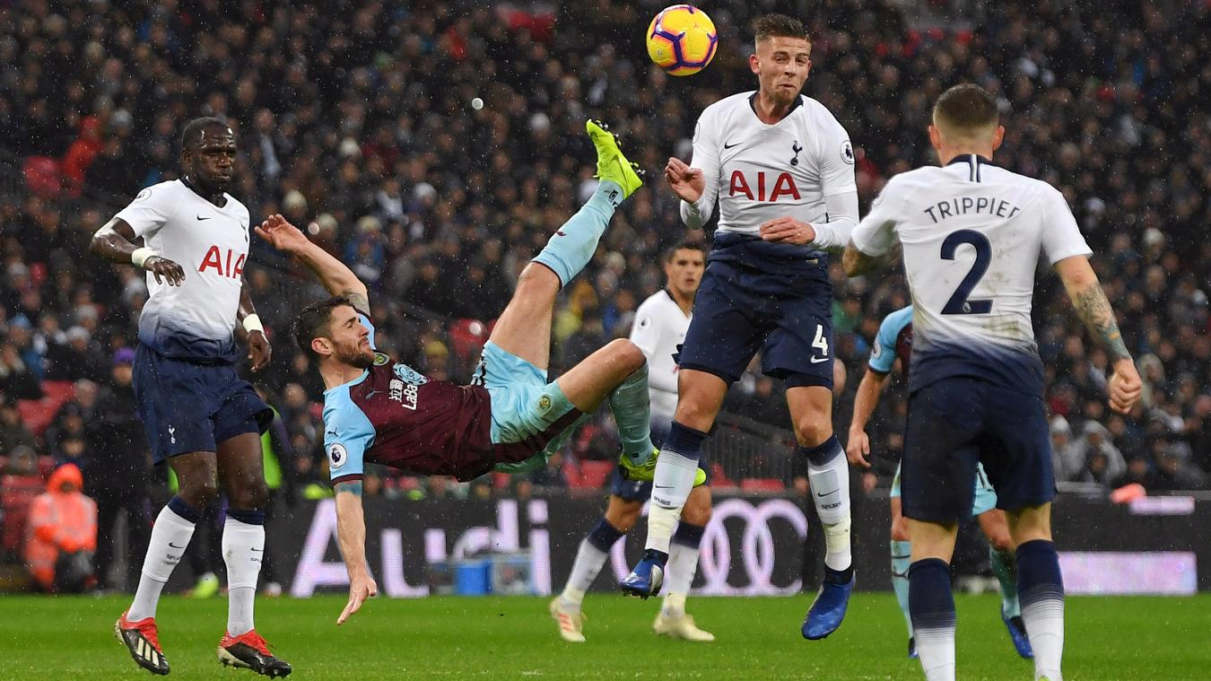 Tottenham Hotspur 1-0 Burnley