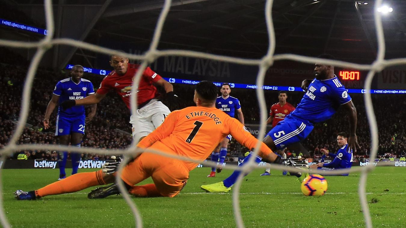 Cardiff City 1-5 Manchester United