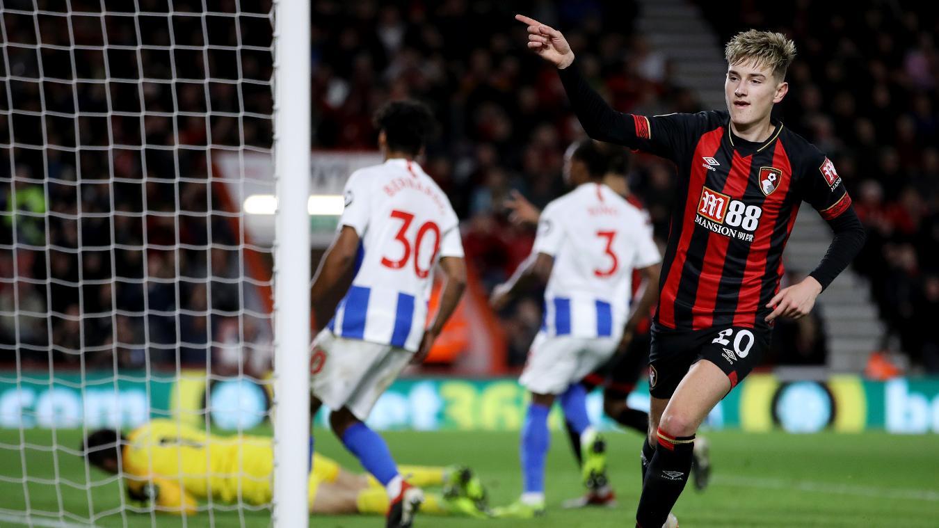 AFC Bournemouth 2-0 Brighton & Hove Albion