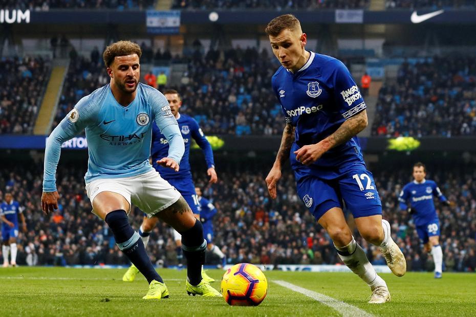 Lucas Digne, Everton