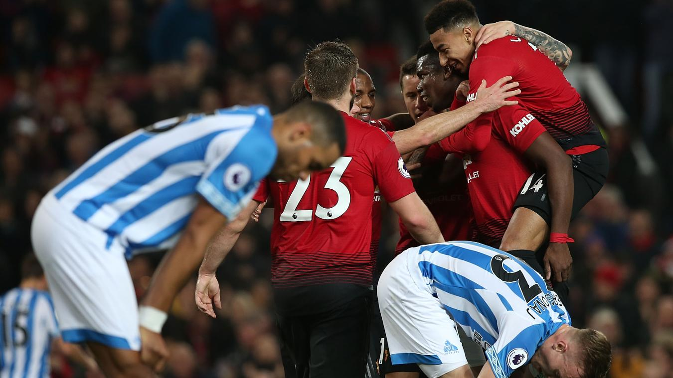 Manchester United 3-1 Huddersfield Town